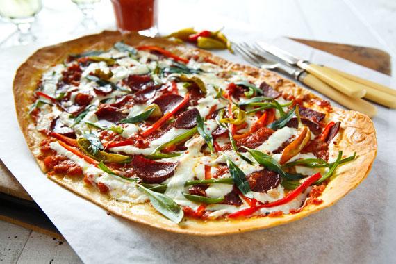 Lavaştan Basit Pizza