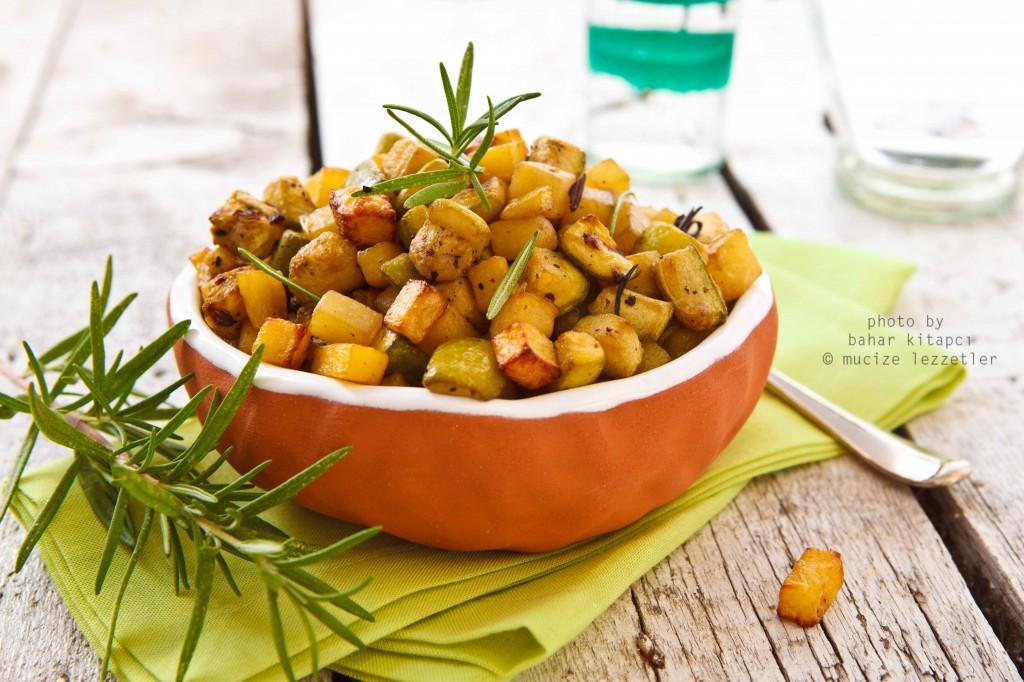 Fritto'da çıtır kabak ve patates