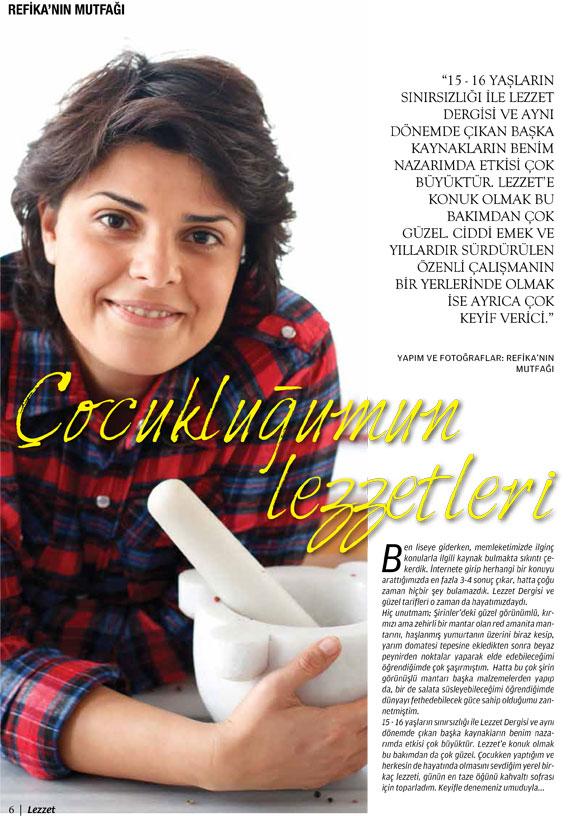 Lezzet Dergisi Ocak 2013
