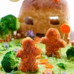Ev Yapımı Nugget ve Yeşil Püre Tarifi