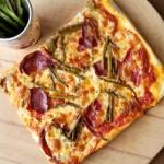 Ayrellili Dil Peynirli Pizza Tarifi