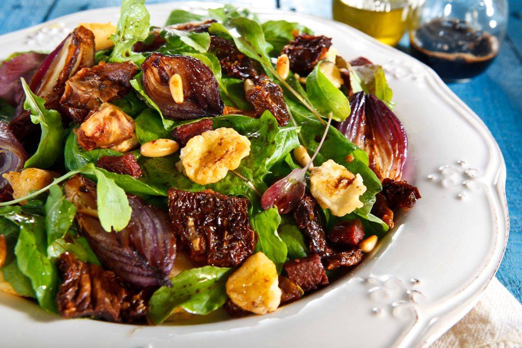 Kişnişli Yeşil Mercimek Salatası Tarifi