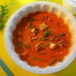 Mantılı Kırmızı Biber Çorbası Tarifi