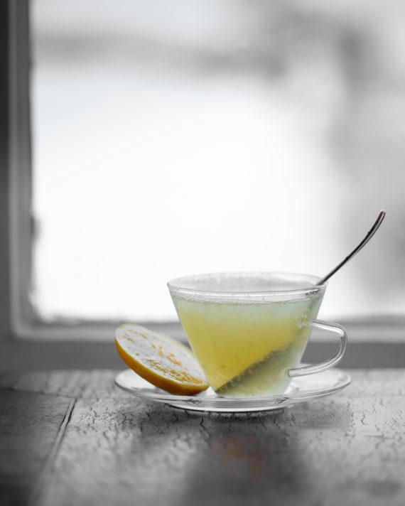 Sıcak Zencefilli Çay