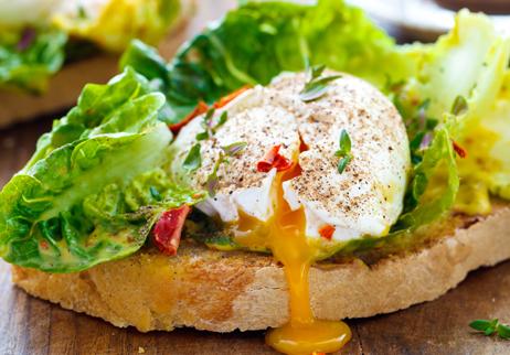 Yumurtalı Ekmek Üstü