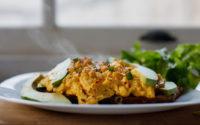 Avokadolu Çırpılmış Yumurta